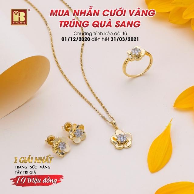 Mua nhẫn cưới vàng trúng quà sang đợt 2 tại Bảo Tín Minh Châu - 3