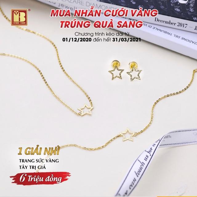 Mua nhẫn cưới vàng trúng quà sang đợt 2 tại Bảo Tín Minh Châu - 4