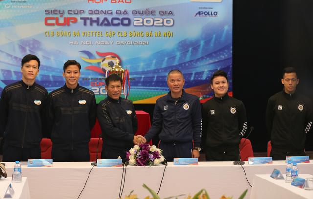 Đình Trọng và Duy Mạnh bỏ ngỏ khả năng ra sân trận Siêu Cúp - 1