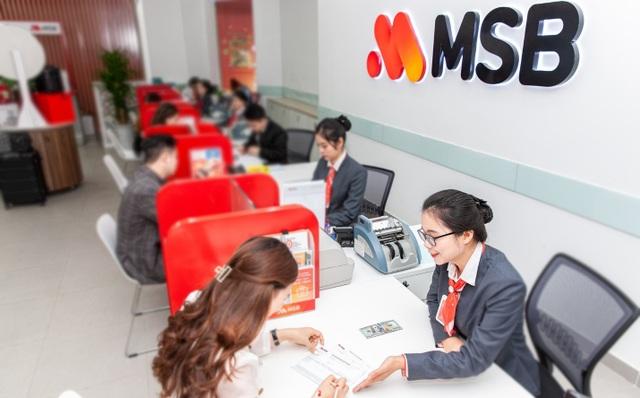 Lợi nhuận trước thuế vượt kế hoạch, MSB dự kiến chia cổ tức tối thiểu 15% - 1