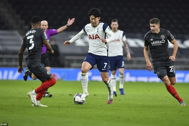 Khoảnh khắc Son Heung Min tỏa sáng đưa Tottenham vào chung kết League Cup - 13