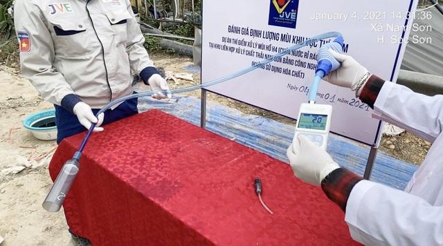 Kết quả thí điểm xử lý mùi bãi rác Nam Sơn bằng công nghệ Nhật Bản - 5