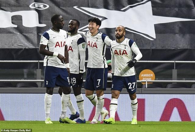 Khoảnh khắc Son Heung Min tỏa sáng đưa Tottenham vào chung kết League Cup - 18