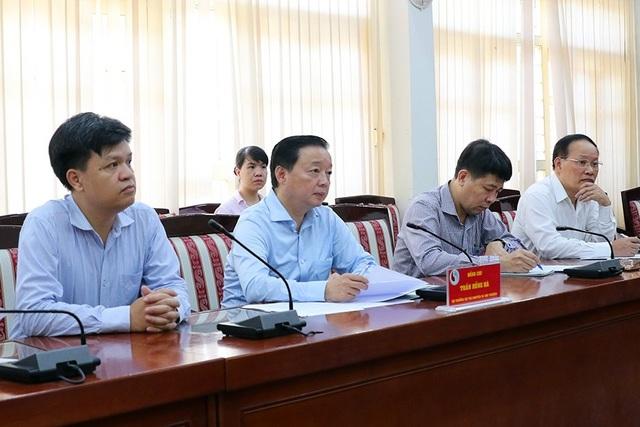 Bộ trưởng Tài nguyên và Môi trường tiếp dân 4 ngày trong năm 2021 - 1