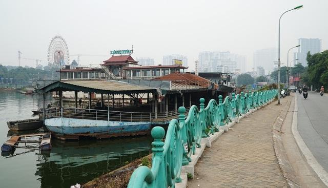 Cận cảnh nghĩa địa du thuyền từng một thời sầm uất bậc nhất Thủ đô - 1