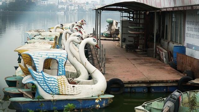 Cận cảnh nghĩa địa du thuyền từng một thời sầm uất bậc nhất Thủ đô - 7