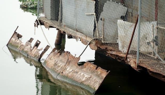 Cận cảnh nghĩa địa du thuyền từng một thời sầm uất bậc nhất Thủ đô - 9