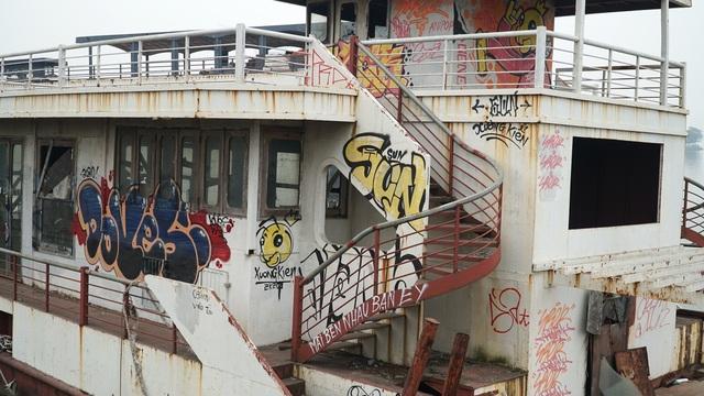 Cận cảnh nghĩa địa du thuyền từng một thời sầm uất bậc nhất Thủ đô - 10