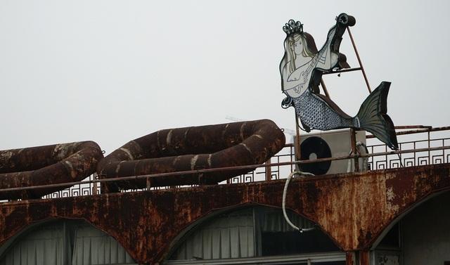 Cận cảnh nghĩa địa du thuyền từng một thời sầm uất bậc nhất Thủ đô - 11