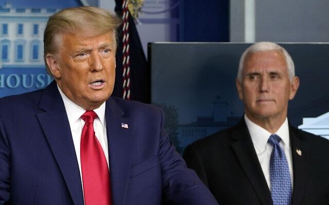 Phó tướng Pence chịu sức ép liên tiếp từ ông Trump trước ngày phán xử - 1
