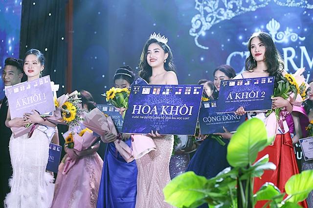 Cựu nữ sinh chuyên Sử đăng quang Hoa khôi ĐH Luật Hà Nội - 3