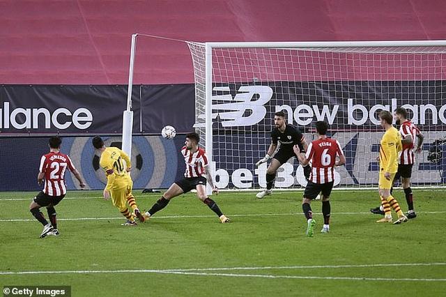 Bilbao 2-3 Barcelona: Messi tỏa sáng rực rỡ - 6