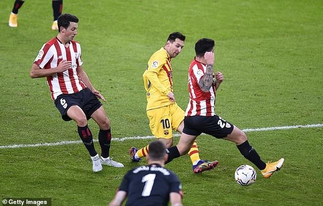 Bilbao 2-3 Barcelona: Messi tỏa sáng rực rỡ - 5