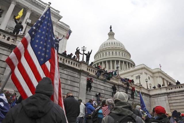 Lãnh đạo các nước sốc với biểu tình bạo loạn ở quốc hội Mỹ - 1