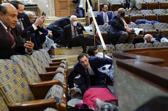 Lãnh đạo các nước sốc với biểu tình bạo loạn ở quốc hội Mỹ - 2