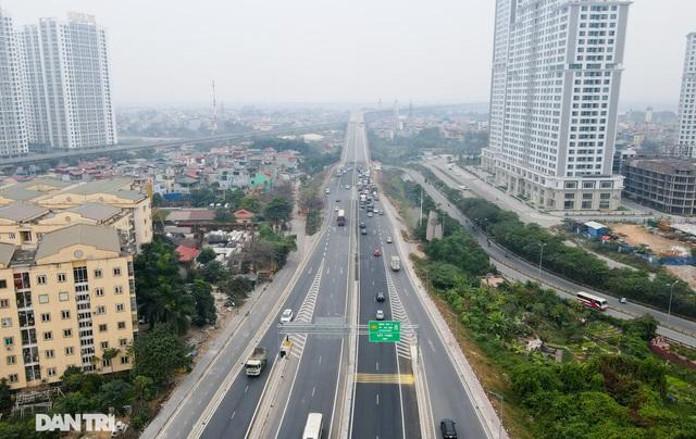 Thông xe cầu Thăng Long, kết nối xuyên suốt đường trên cao đẹp nhất Hà Nội - 10