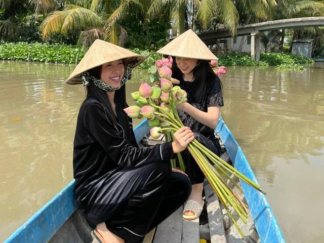 Á hậu Thúy An tự tay trang trí đám cưới ở quê nhà Kiên Giang - 10