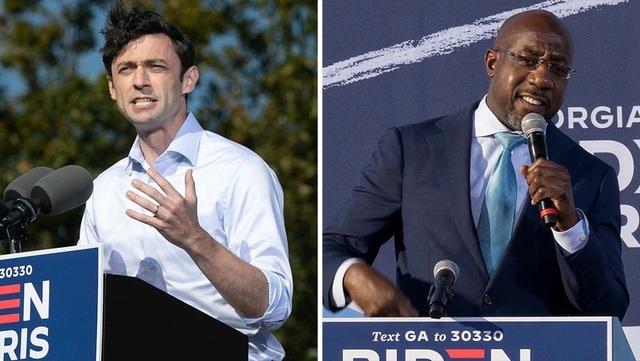 Đảng Dân chủ thắng cả 2 ghế thượng viện ở Georgia, kiểm soát quốc hội Mỹ - 1