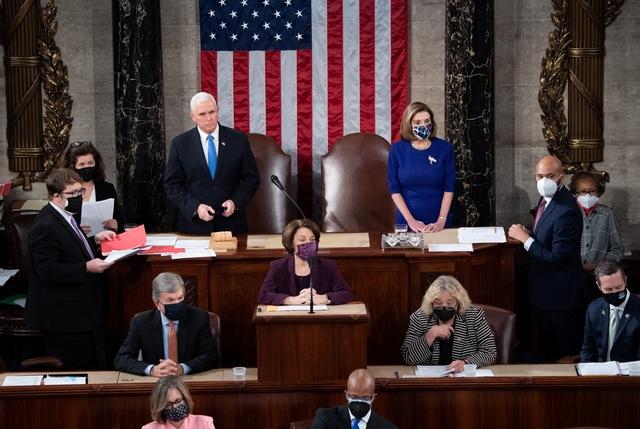 Vừa mở màn họp quốc hội Mỹ, nghị sĩ Cộng hòa lập tức phản đối kết quả - 2