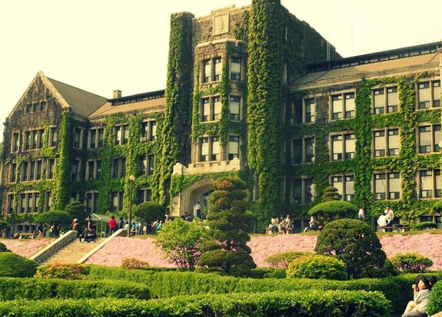 Những trường đại học có khuôn viên thơ mộng hữu tình nhất xứ Hàn - 3