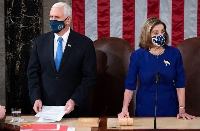 Quốc hội Mỹ quyết xác nhận tổng thống đắc cử bất chấp bạo loạn - 1