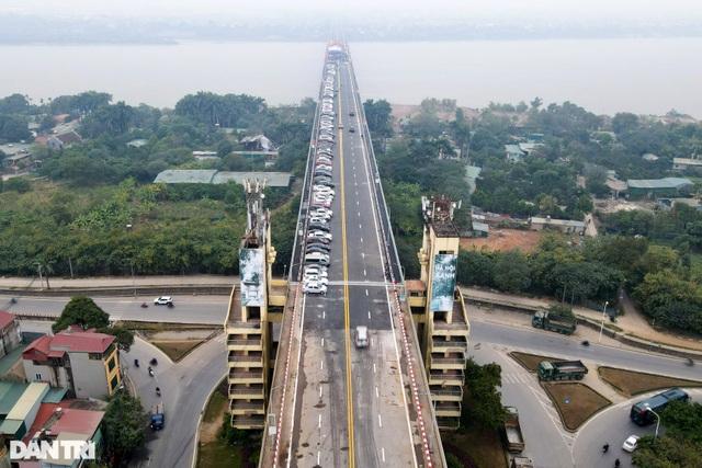 Thông xe cầu Thăng Long, kết nối xuyên suốt đường trên cao đẹp nhất Hà Nội - 6