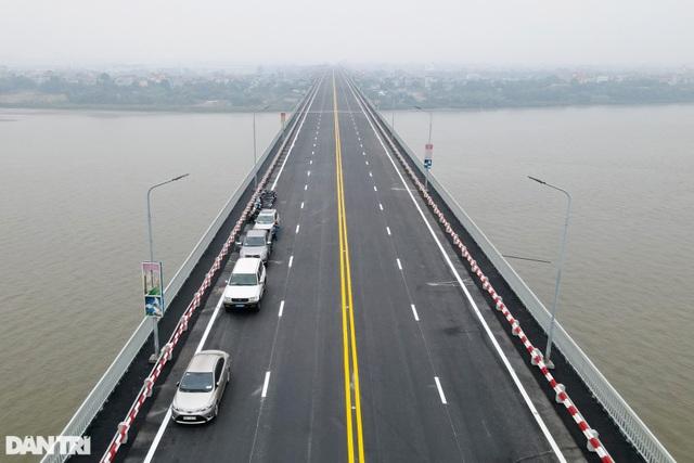 Thông xe cầu Thăng Long, kết nối xuyên suốt đường trên cao đẹp nhất Hà Nội - 8
