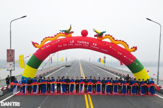 Thông xe cầu Thăng Long, kết nối xuyên suốt đường trên cao đẹp nhất Hà Nội - 1