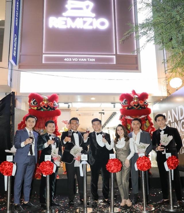 Thương hiệu veston Remizio tưng bừng khai trương showroom thứ 6 tại TP. HCM - 5