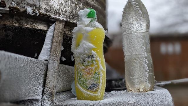 Nhiệt độ xuống dưới 1 độ C, đồ dùng sinh hoạt của người dân bị