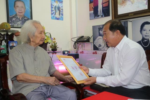 Nhạc sư Vĩnh Bảo qua đời ở tuổi 104 - 1