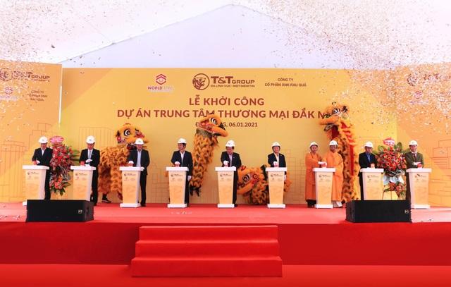 TT và WorldSteel khởi công xây dựng trung tâm thương mại tại Đắc Nông - 1