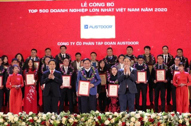 Tập đoàn Austdoor nằm trong top 500 doanh nghiệp lớn nhất việt nam - 1