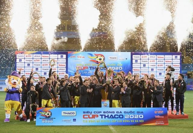 Đánh bại Viettel, CLB Hà Nội giành Siêu cúp Quốc gia 2020 - 1