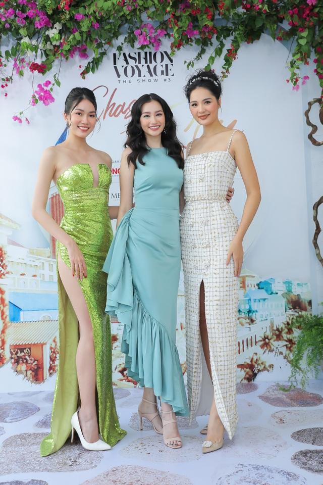 Siêu mẫu Thanh Hằng hội ngộ dàn Hoa hậu, Á hậu, người mẫu - 3