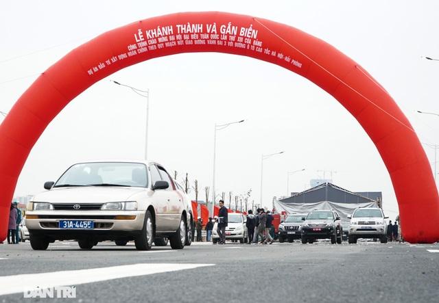 Thông xe nút giao 400 tỷ đồng nối cao tốc Hà Nội - Hải Phòng với Vành đai 3 - 7