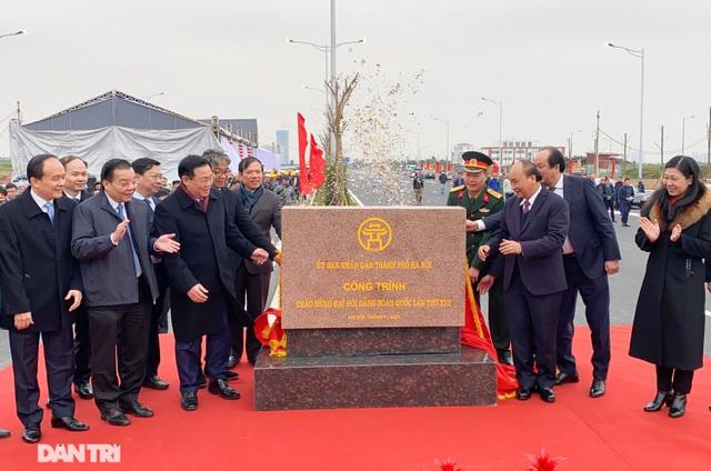 Thông xe nút giao 400 tỷ đồng nối cao tốc Hà Nội - Hải Phòng với Vành đai 3 - 1