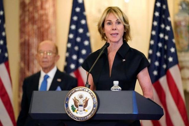 Trung Quốc cảnh báo Mỹ đùa với lửa khi đưa đại sứ tới Đài Loan - 1