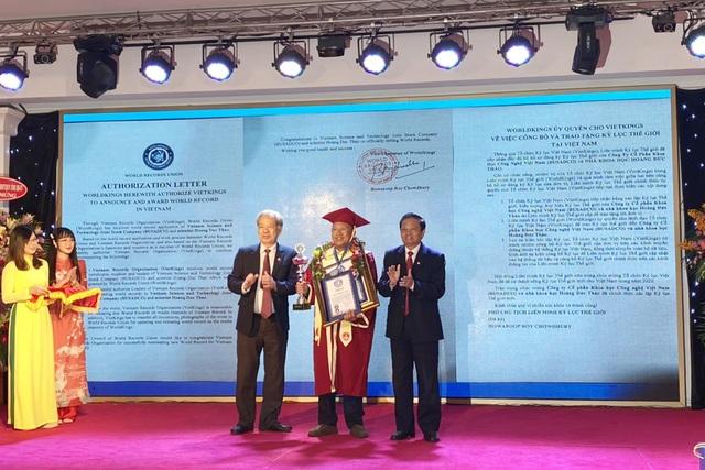 Xác lập kỷ lục Việt Nam và thế giới cho nhà khoa học Việt - 2