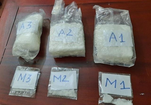 Dân buôn ma túy bị bắt trên đường từ Đà Nẵng ra Nghệ An đánh hàng - 2
