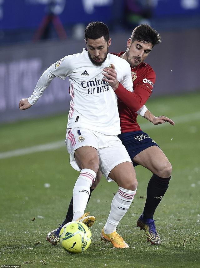 Hòa thất vọng, Real Madrid có nguy cơ bị Atletico bỏ xa - 5