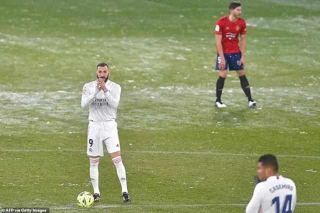 Worldcup888 news: Hòa thất vọng, Real Madrid có nguy cơ bị Atletico bỏ xa