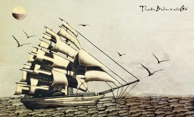 Người con thổi luồng gió mới vào những bức tranh làng Đồng Xâm - 4