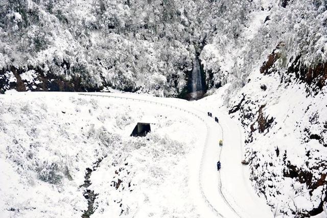 Những đợt băng tuyết như châu Âu hiếm gặp ở miền Bắc - 1