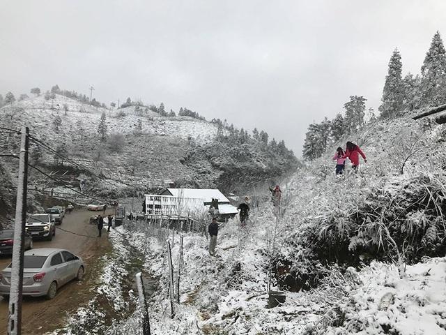 Những đợt băng tuyết như châu Âu hiếm gặp ở miền Bắc - 9
