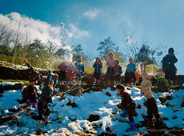 Những đợt băng tuyết như châu Âu hiếm gặp ở miền Bắc - 5