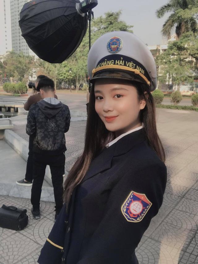 Nữ thần trường học của đại học Hàng hải - 5