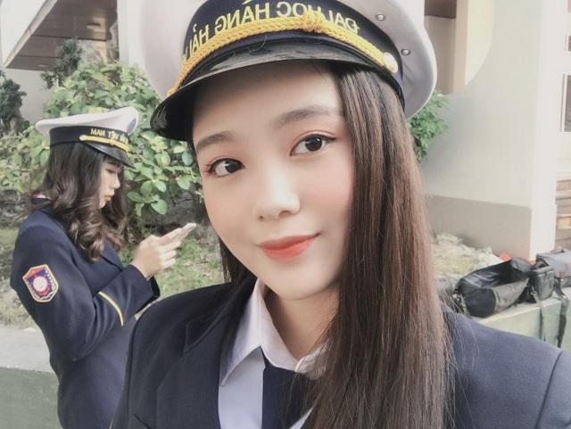 Nữ thần trường học của đại học Hàng hải - 9