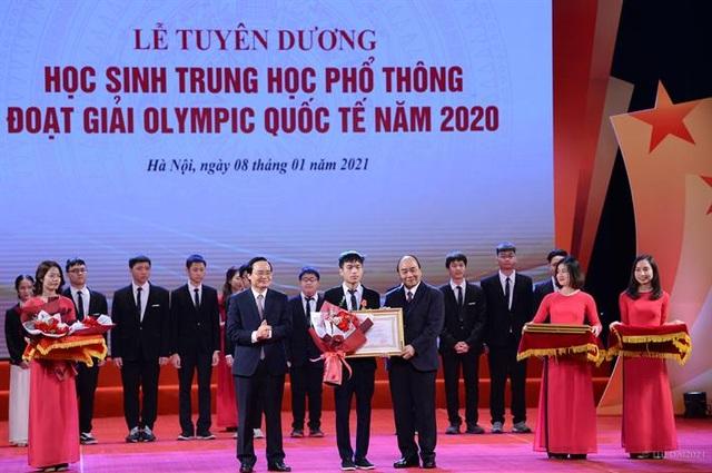 Điều gì làm nên thành tích huy chương Olympic quốc tế của học sinh ViệtNam? - 1