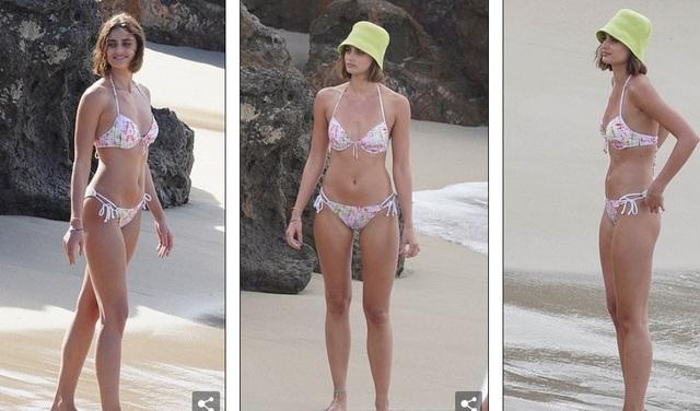 Siêu mẫu nội y Taylor Hill đẹp như mộng trên biển - 5